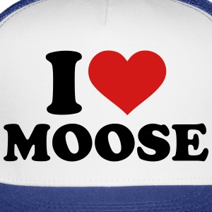 I love Moose T-Shirts - Trucker Cap