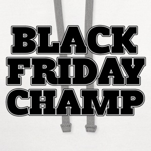 Black Friday CHAMP - Contrast Hoodie