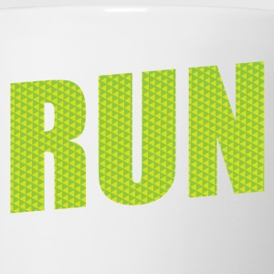Run Marathon Kids' Shirts - Coffee/Tea Mug