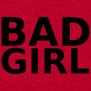 Bad girl Caps - Men's T-Shirt by American Apparel
