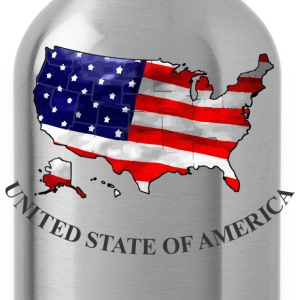 United State Of America T-Shirts - Water Bottle