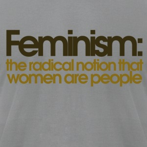 Feminism defined - Men's T-Shirt by American Apparel