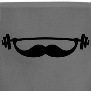 Funny Fitness Mustache / Beard T-Shirts - Adjustable Apron