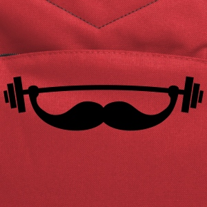 Funny Fitness Mustache / Beard Hoodies - Computer Backpack