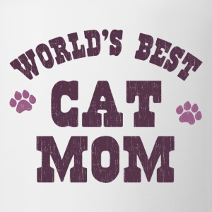 World's Best Cat Mom Women's T-Shirts - Coffee/Tea Mug