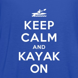 Keep Calm and Kayak on T-Shirts - Women's Flowy Tank Top by Bella