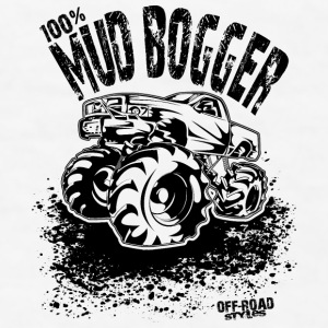 100% Mud Bogger Bottles & Mugs - Men's T-Shirt