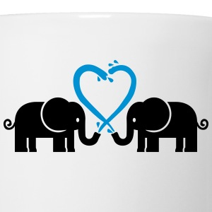 Elephants Women's T-Shirts - Coffee/Tea Mug