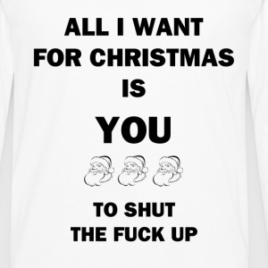 All I Want for Christmas - Men's Premium Long Sleeve T-Shirt