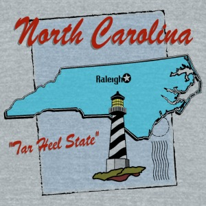 North Carolina Bottles & Mugs - Unisex Tri-Blend T-Shirt by American Apparel
