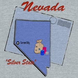 Nevada Bottles & Mugs - Unisex Tri-Blend T-Shirt by American Apparel