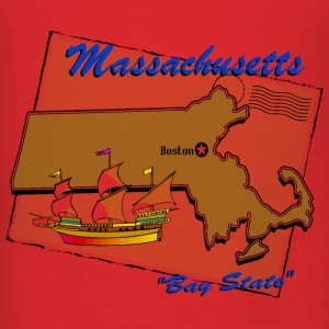 Massachusetts Bags & backpacks - Men's T-Shirt