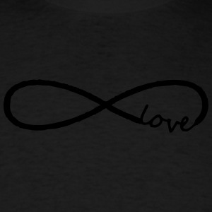 infinity symbol love - Men's T-Shirt