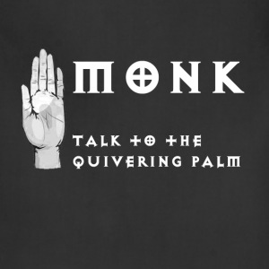 Monk - Talk to the Quivering Palm - Adjustable Apron