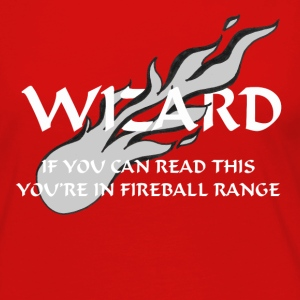 Wizard - Fireball Range - Women's Premium Long Sleeve T-Shirt