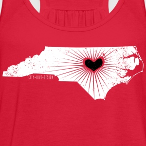 Raleigh Love NC State Wolfpack Edition - Discount  - Women's Flowy Tank Top by Bella