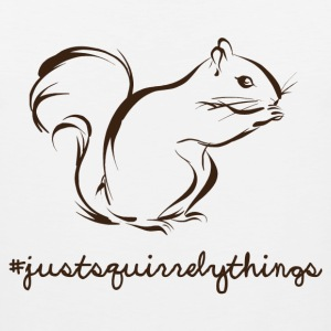 Just Squirrely Things Squirrel Women's T-Shirts - Men's Premium Tank