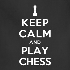 Keep Calm and Play Chess T-Shirts - Adjustable Apron