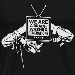 brainwashed - Men's Premium T-Shirt