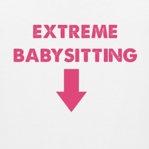 Extreme Babysitting Surrogacy Women's Shirt - Men's Premium Tank