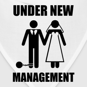 Just Married, Under New Management T-Shirts - Bandana