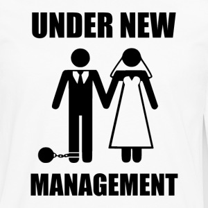 Just Married, Under New Management T-Shirts - Men's Premium Long Sleeve T-Shirt