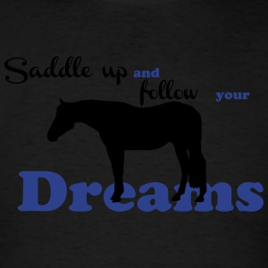 Saddle up Tanks - Men's T-Shirt