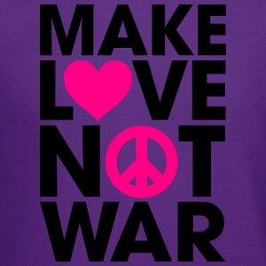 Make Love Not War Hoodies - Crewneck Sweatshirt