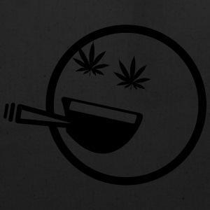 Stoner Smiley T-Shirts - Eco-Friendly Cotton Tote