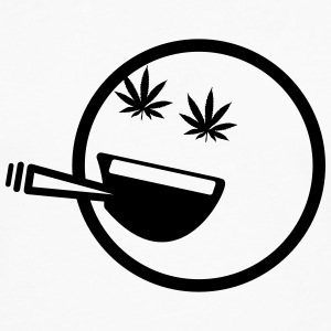 Stoner Smiley T-Shirts - Men's Premium Long Sleeve T-Shirt