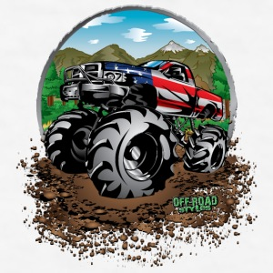 Mud Truck USA Bottles & Mugs - Men's T-Shirt