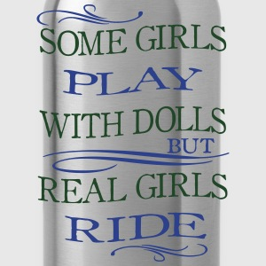 Some Girls play with Dolls -- ride Bags & backpacks - Water Bottle