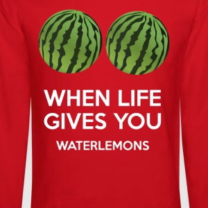 When life gives you watermelons - Crewneck Sweatshirt
