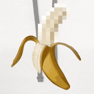Dirty Censored Peeled Banana T-Shirts - Contrast Hoodie