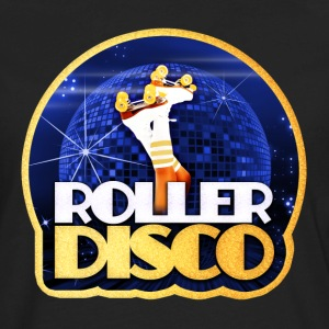 Roller Disco Faux Iron On - Men's Premium Long Sleeve T-Shirt