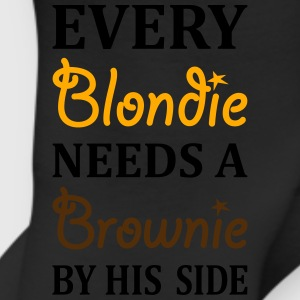 Every Brownie Needs A Blondie By His Side T-Shirts - Leggings