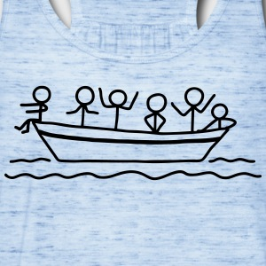 Party on board - Boat Party T-Shirts - Women's Flowy Tank Top by Bella