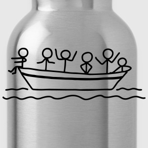 Party on board - Boat Party T-Shirts - Water Bottle