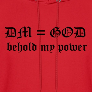 DM = God - Behold My Power - Men's Hoodie