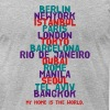 Berlin New York Istanbul Paris London Tokyo T-Shirts - Men's T-Shirt by American Apparel