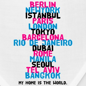 Berlin New York Istanbul Paris London Tokyo T-Shirts - Bandana