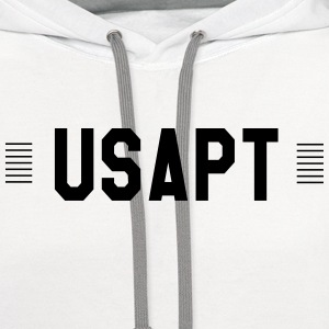 USAPT T-Shirts - Contrast Hoodie