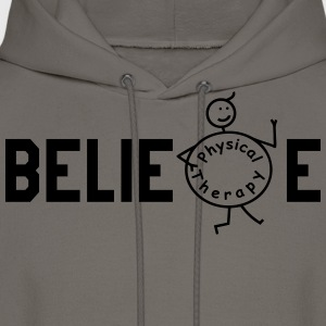 BELIEVE Physiotherapy T-Shirts - Men's Hoodie