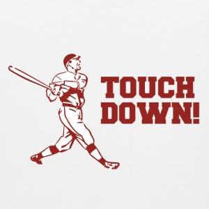 Touchdown Homerun Baseball Football Sports T-Shirts - Men's Premium Tank