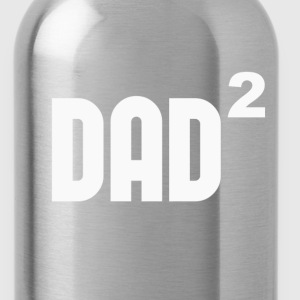 Dad2 Dad Squared Exponentially T-Shirts - Water Bottle