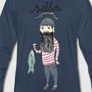 Seaman T-Shirts - Men's Premium Long Sleeve T-Shirt