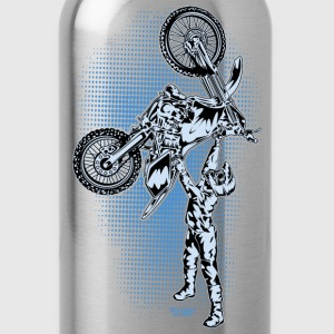 FMX Dirt Biker Blue Kids' Shirts - Water Bottle