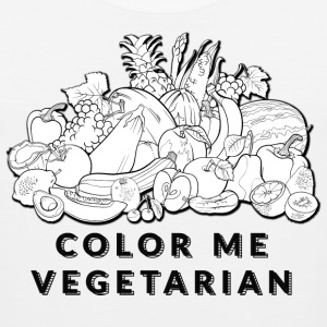 Color Me Vegetarian - Men's Premium Tank