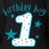 Birthday Boy 1st Birthday - Short Sleeve Baby Bodysuit