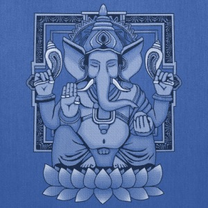 Ganesha Distressed T-Shirts - Tote Bag